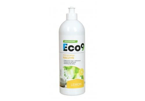 ECO9 LEMON - Ekologiczny płyn do mycia naczyń