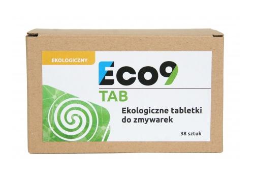 Eco9 TAB - Ekologiczne tabletki do zmywarek