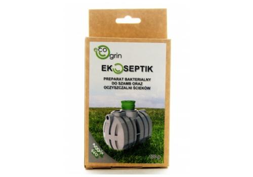 EKOSEPTIK - Preparat bakterialny do szamb oraz oczyszczalni ścieków