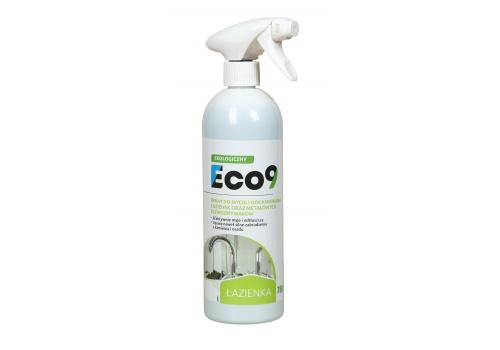 ECO9 ŁAZIENKA - Ekologiczny płyn do mycia i odkamieniania wszystkich powierzchni