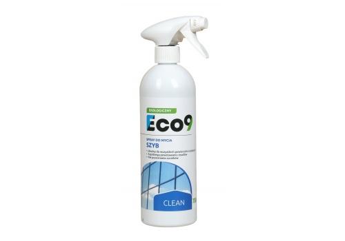ECO9 CLEAN - Ekologiczny płyn do mycia powierzchni szklanych
