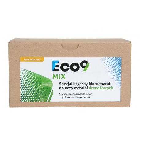 ECO9 MIX 1KG - Bakterie w saszetkach na 6 miesięcy