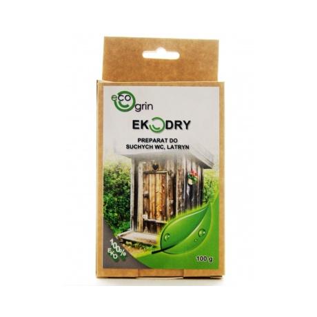 EKODRY - Preparat do suchych WC, latryn