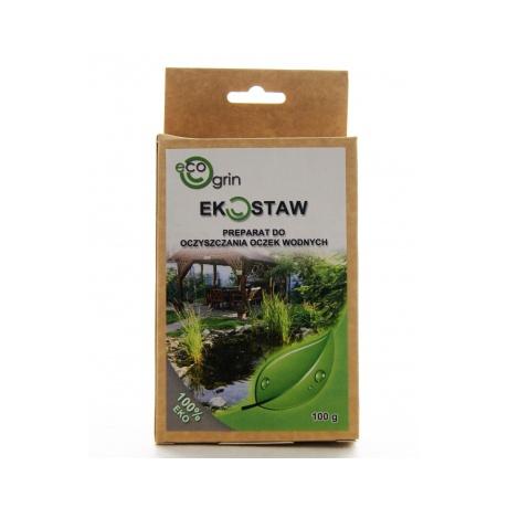 EKOSTAW - Preparat do oczyszczania oczek wodnych