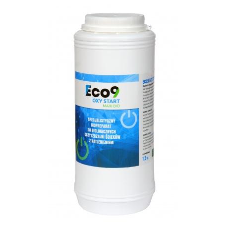 Eco9 OXY START MAXI BIO - Rozruch oczyszczalni tlenowych