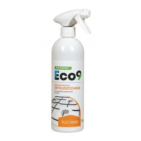 ECO9 KUCHNIA - Ekologiczny spray do mycia i czyszczenia powierzchni w kuchni