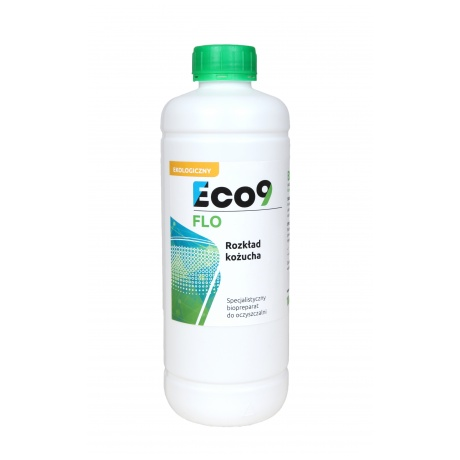 Eco9 FLO 1000ml - Rozkład kożucha