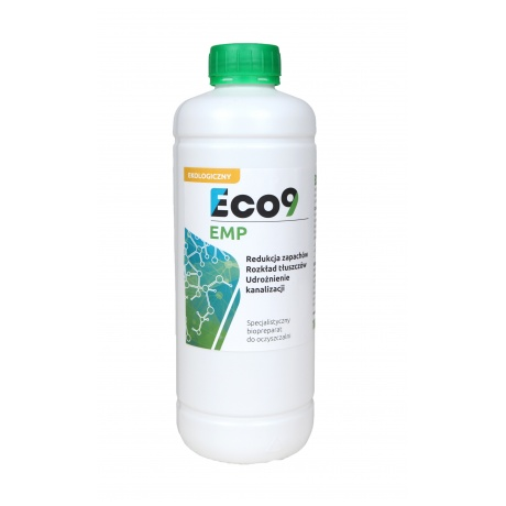 Eco9 EMP Udrożnianie kanalizacji 1000ml
