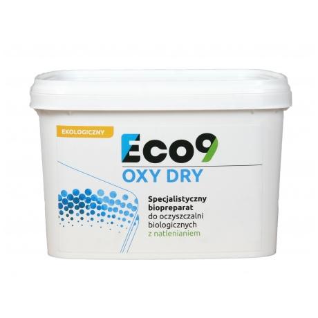 Eco9 OXY DRY - Bakterie do oczyszczalni tlenowych NA ROK
